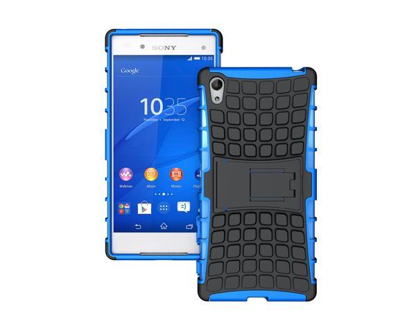 Odolné pouzdro PANZER CASE na mobilní telefon Sony Xperia Z5 Modré