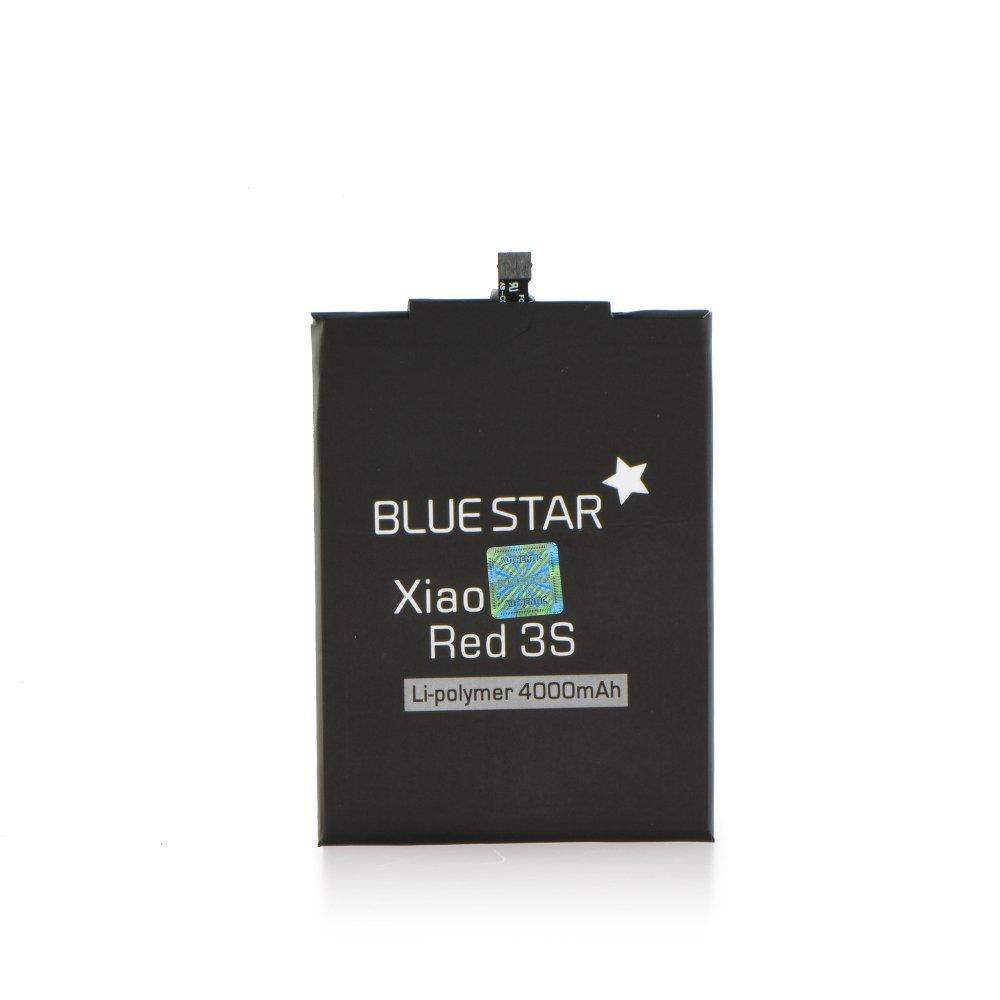 Náhradní baterie Blue Star Premium pro Xiaomi Redmi 3S 4000 mAh (Kompatibilní baterie pro mobilní telefony Xiaomi Redmi 3S)