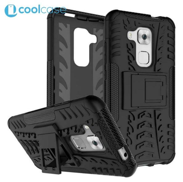 Odolné pouzdro na mobil PANZER CASE NEO na mobil Huawei Nova Plus Černé (Odolný kryt či obal na mobil Huawei Nova Plus se stojánkem)