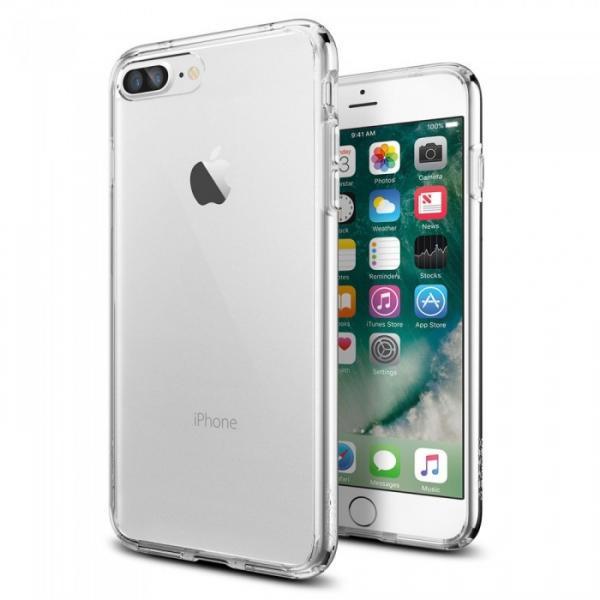 Silikonové pouzdro Ultra Thin 0,3 mm na mobil Apple iPhone 7 Čiré průhledné (Silikonový kryt či obal na mobilní telefon v průhledném provedení Apple iPhone 7)