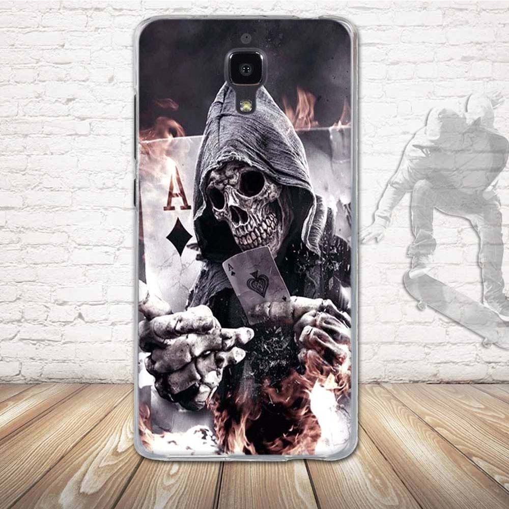 Silikonové pouzdro COOL CASE na mobil Xiaomi Mi4 Smrťák (Silikonový kryt či obal na mobilní telefon v průhledném provedení Xiaomi Mi4)