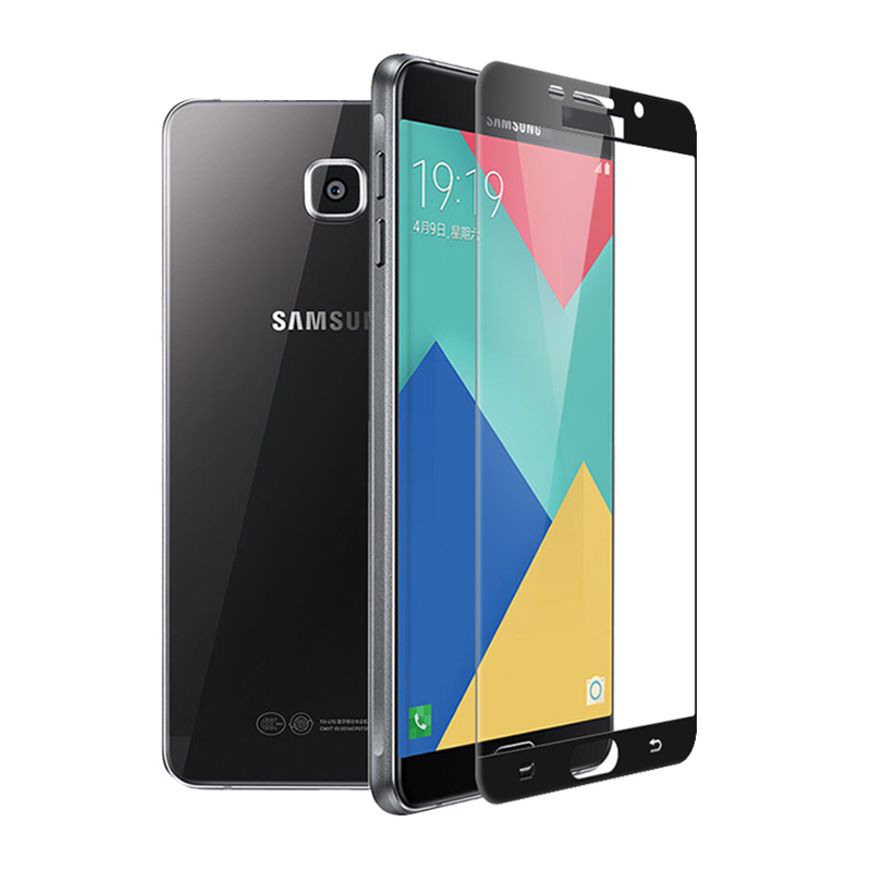 Ochranné tvrzené sklo Swissten Samsung Galaxy A5 (2016) na celý displej Černé (Tvrzenné ochranné sklo Samsung Galaxy A5 (2016) - Černé)
