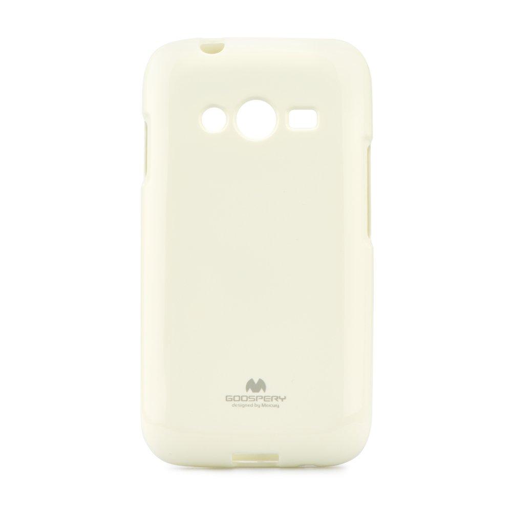Silikonové pouzdro na mobil Samsung Galaxy Trend 2 Lite JELLY BÍLÉ (Silikonový kryt či obal na mobilní telefon Samsung Galaxy Samsung Galaxy Trend 2 Lite)