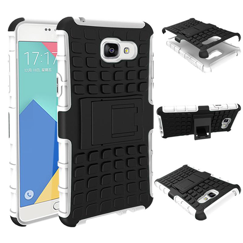 Odolné pouzdro PANZER CASE na mobilní telefon Samsung Galaxy A3 (2017) Bílé