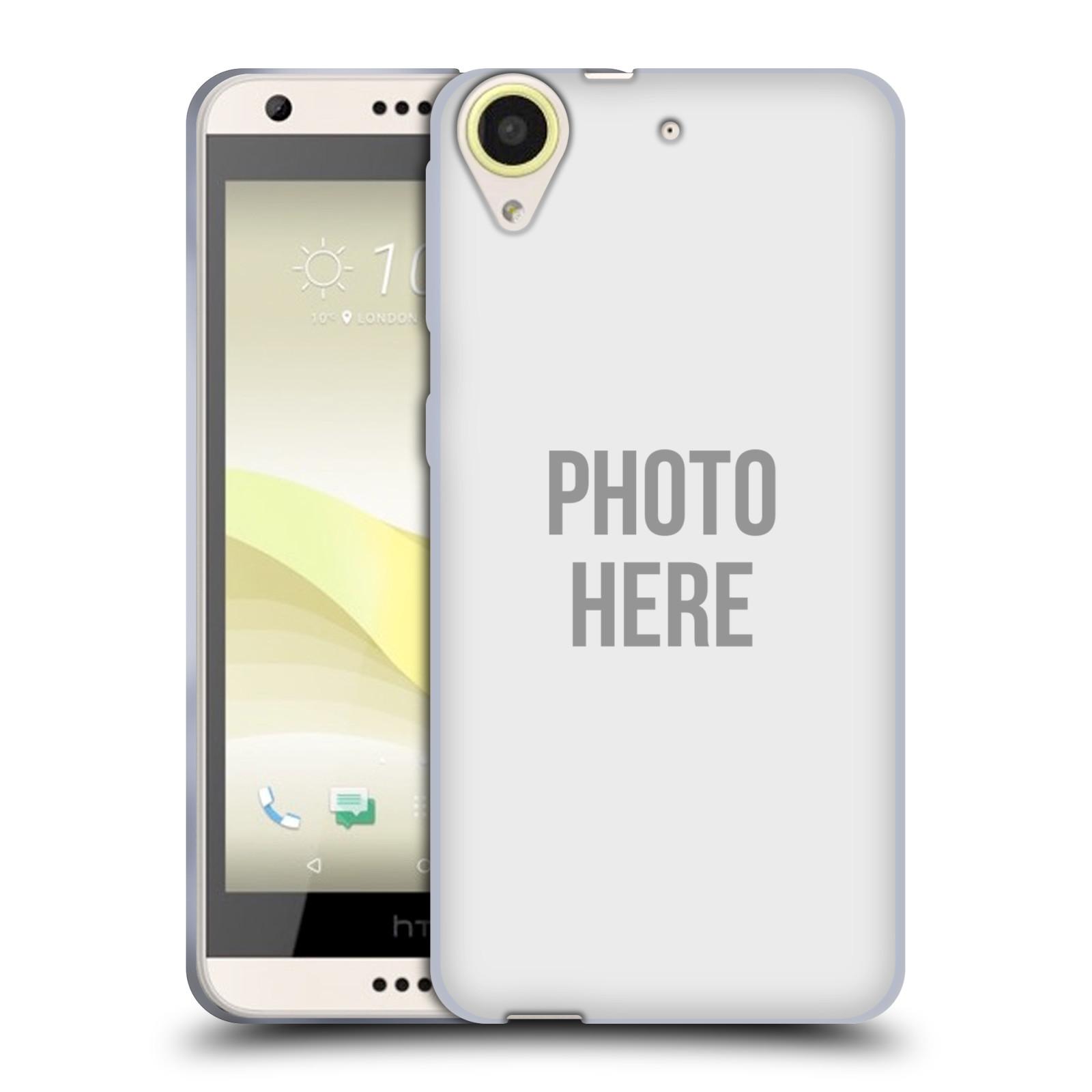 Silikonové pouzdro na mobil HTC Desire 650 HEAD CASE s vlastním motivem (Silikonový kryt či obal s vlastní fotografií na mobilní telefon HTC Desire 650)