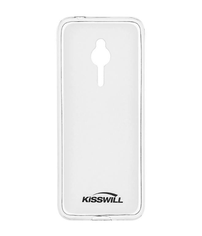 Silikonové pouzdro Kisswill pro mobilní telefon Nokia 230 Čiré (Silikonový kryt či obal na mobil Nokia 230)