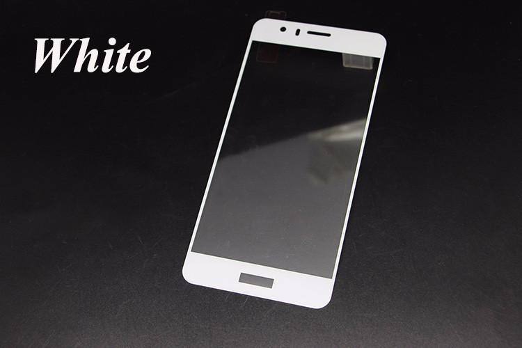 Ochranné tvrzené sklo Full face pro Huawei Honor 8 - na celý displej - bílé (Tvrzenné temperované ochranné sklo Huawei Honor 8 + folie na zadní část telefonu)