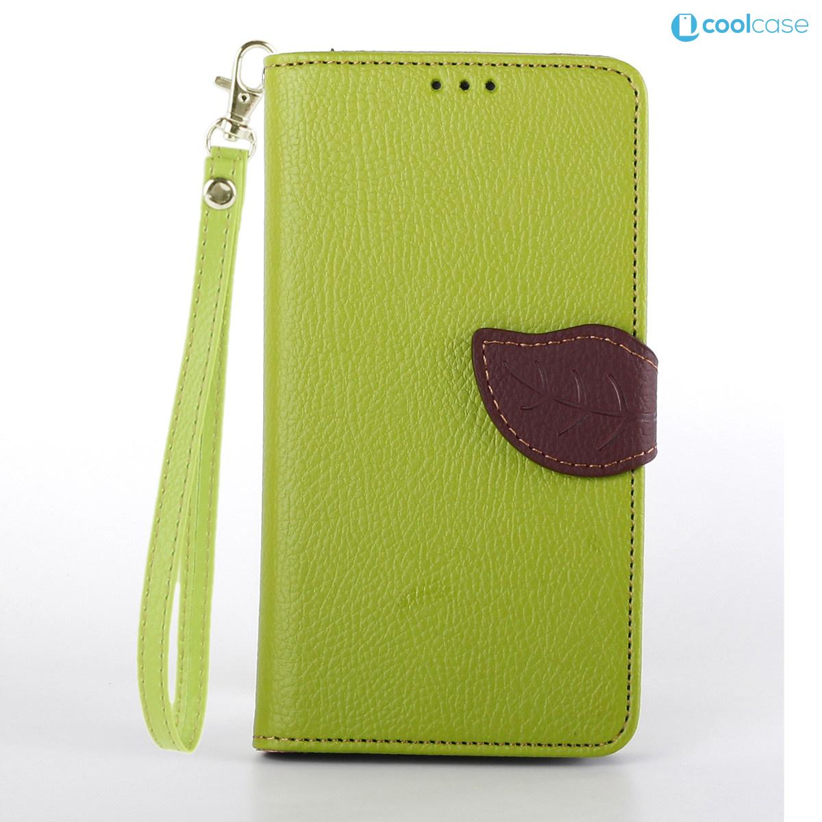 Flipové pouzdro na mobil LEAF BOOK Sony Xperia Z3 Zelené (Flipové knížkové vyklápěcí pouzdro na mobilní telefon Sony Xperia Z3)