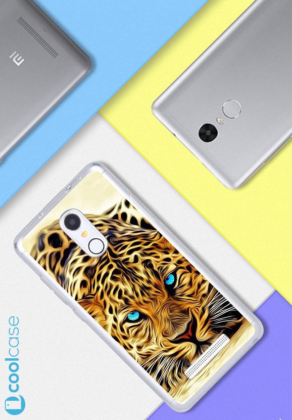 Silikonové pouzdro na mobil Xiaomi Redmi NOTE 3 Pro/ LTE Global 152mm Leopard (Silikonový kryt či obal na mobilní telefon v průhledném provedení Xiaomi Redmi NOTE 3 Pro / Xiaomi Redmi NOTE 3 LTE Global Edition)