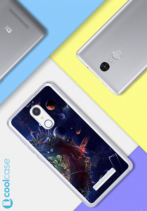 Silikonové pouzdro na mobil Xiaomi Redmi NOTE 3 Pro/ LTE Global 152mm Planety (Silikonový kryt či obal na mobilní telefon v průhledném provedení Xiaomi Redmi NOTE 3 Pro / Xiaomi Redmi NOTE 3 LTE Global Edition)