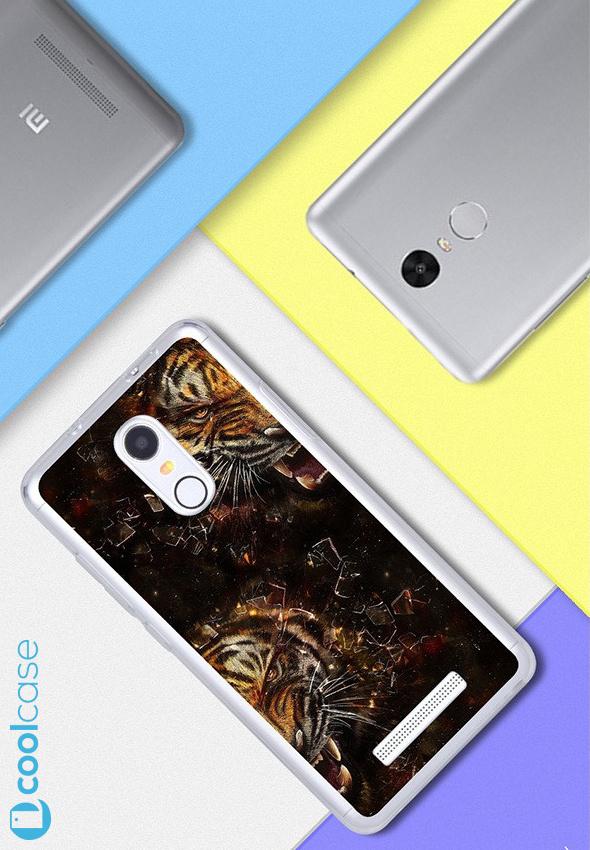 Silikonové pouzdro na mobil Xiaomi Redmi NOTE 3 Pro/ LTE Global 152mm Tygříci (Silikonový kryt či obal na mobilní telefon v průhledném provedení Xiaomi Redmi NOTE 3 Pro / Xiaomi Redmi NOTE 3 LTE Global Edition)