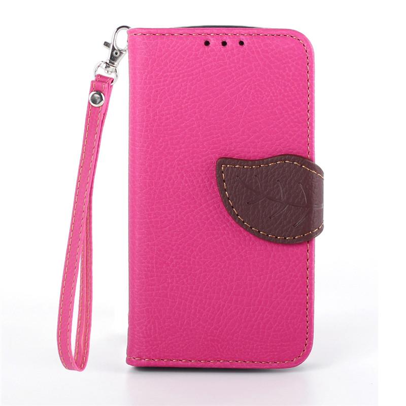 Flipové pouzdro LEAF BOOK Samsung Galaxy Trend Plus Růžové (Flip kryt či obal na mobil Samsung Galaxy Trend Plus)