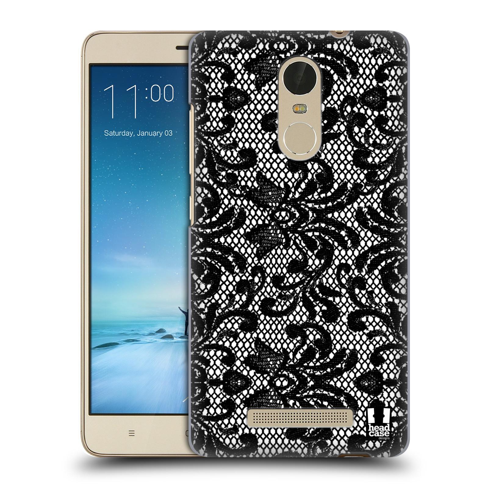 "Plastové pouzdro na mobil Xiaomi Redmi Note 3 HEAD CASE Krajka (Kryt či obal na mobilní telefon Xiaomi Redmi Note 3 s 5,5"" displejem)"