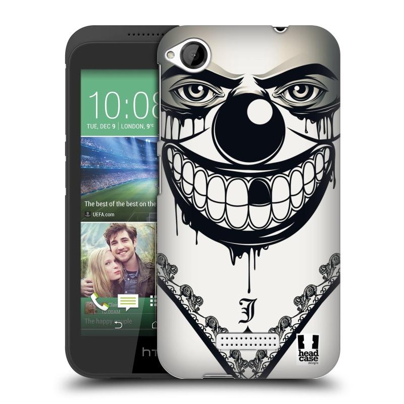 Plastové pouzdro na mobil HTC Desire 320 HEAD CASE ZLEJ KLAUN (Kryt či obal na mobilní telefon HTC Desire 320)