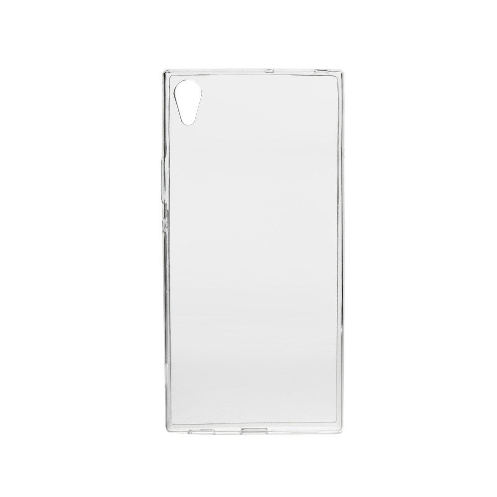 Silikonové pouzdro Ultra Thin 0,3 mm na mobil Sony Xperia XA1 Čiré (Silikonový kryt či obal na mobilní telefon v průhledném provedení Sony Xperia XA1)