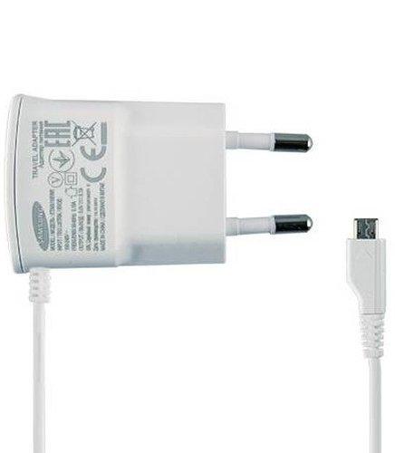 Originální nabíječka do sítě Samsung ETA0U10EWE s Micro USB 700 mA bílá (Originální síťová nabíječka Samsung ETA0U10EWE)