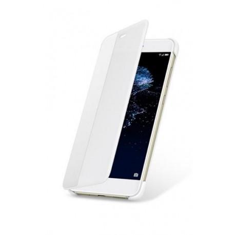Flip vyklápěcí pouzdro Original S-View na mobil Huawei P10 Lite Bílé (Plastový flipový vyklápěcí kryt či obal na mobilní telefon Huawei P10 Lite)
