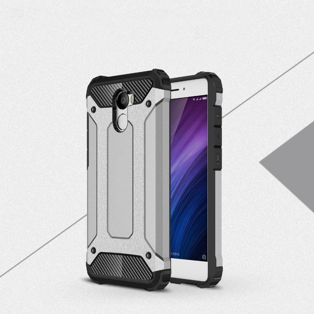 Odolné pouzdro BRUTAL ARMOR na mobilní telefon Xiaomi Redmi 4 Šedé (Odolný kryt či obal na mobil Xiaomi Redmi 4)