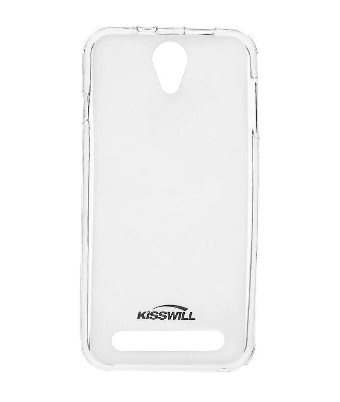 Silikonové pouzdro Kisswill pro mobilní telefon Acer Liquid Z6E Světlé (Silikonový kryt či obal na mobil Acer Liquid Z6E)