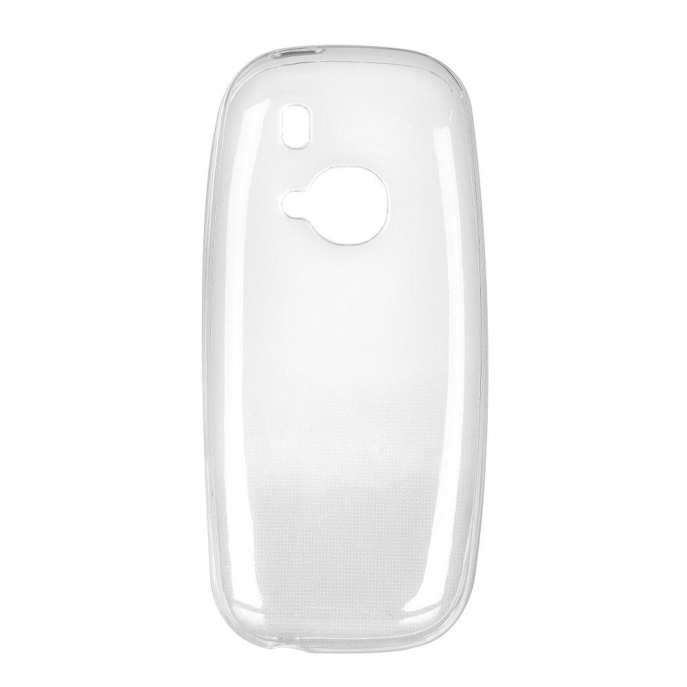 Silikonové pouzdro Ultra Thin 0,3 mm na mobil Nokia 3310 (2017) Čiré (Silikonový kryt či obal na mobilní telefon v průhledném provedení Nokia 3310 (2017))