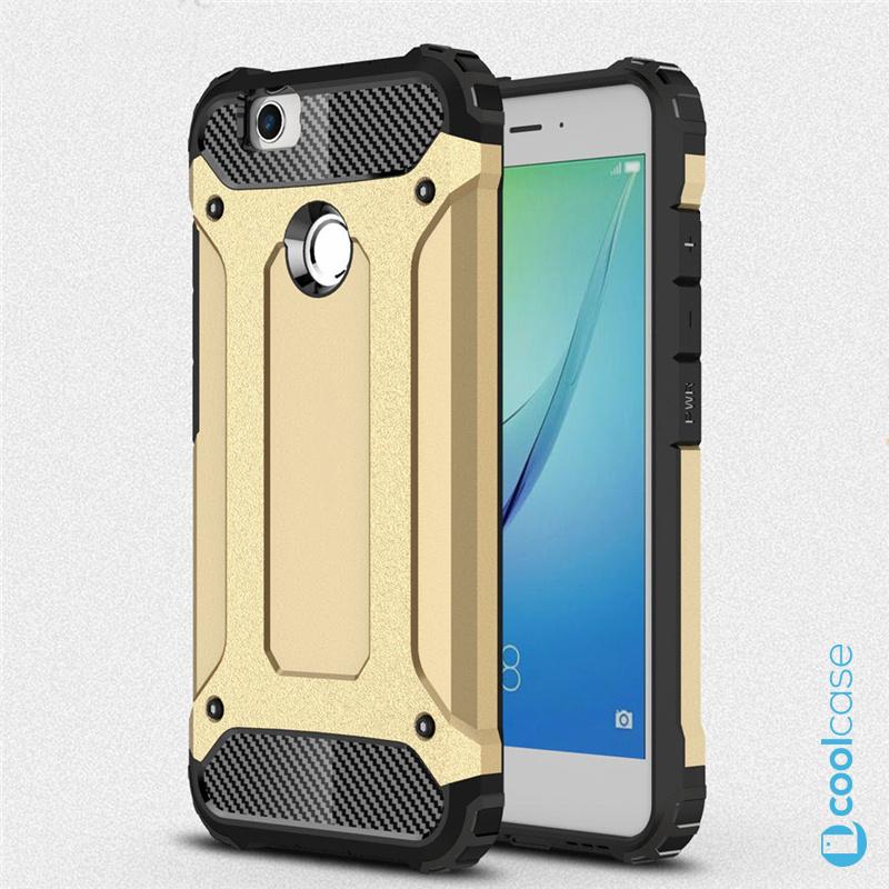 Odolné pouzdro BRUTAL ARMOR na mobilní telefon Huawei Nova Zlatavé (Odolný kryt či obal na mobil Huawei Nova)