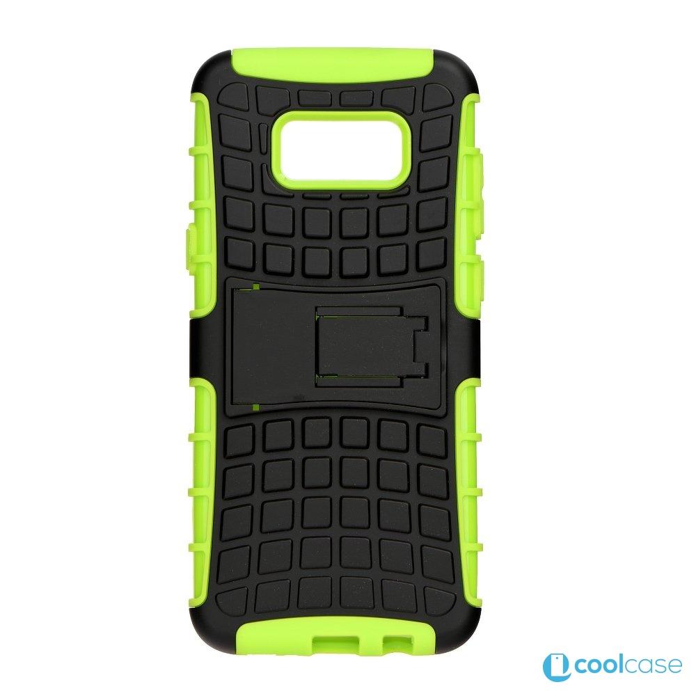 Odolné pouzdro PANZER CASE na mobilní telefon Samsung Galaxy S8+ Plus Zelené
