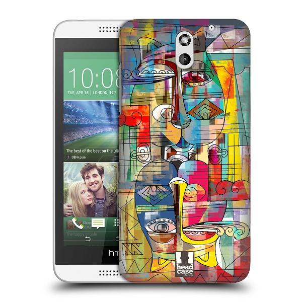 Plastové pouzdro na mobil HTC Desire 610 HEAD CASE AZTEC MANX (Kryt či obal na mobilní telefon HTC Desire 610)