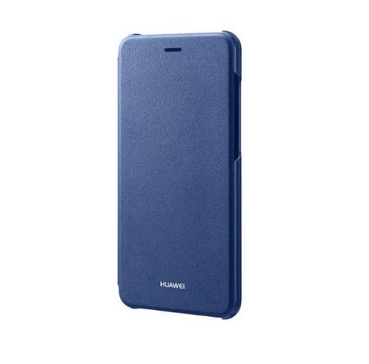 Originální flipové pouzdro na mobil Huawei Folie pro Huawei P9 Lite (2017) Modré (Flip vyklápěcí kryt či obal na mobil Huawei Ascend P9 Lite 2017 / Huawei P8 Lite 2017 - Huawei Original)