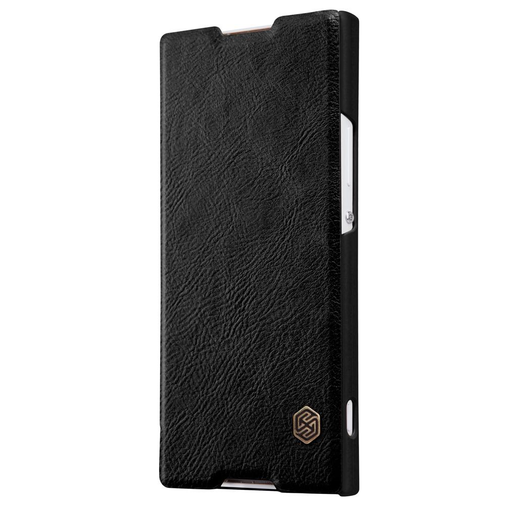Flipové pouzdro Nillkin QIN Book na mobil Sony Xperia XA1 Černé (Flip vyklápěcí kryt či obal na mobil Sony Xperia XA1)