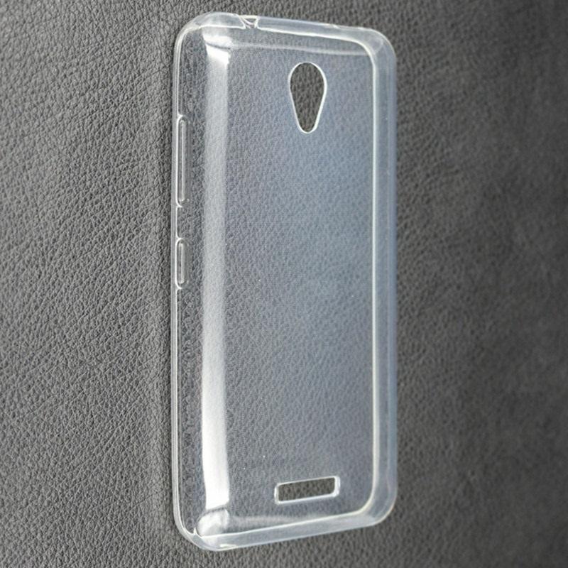 Silikonové pouzdro Ultra Thin 0,5 mm pro mobil Lenovo A Plus Dual SIM čiré (Silikonový kryt či obal na mobil Lenovo A+ (Plus) v čirém provedení)