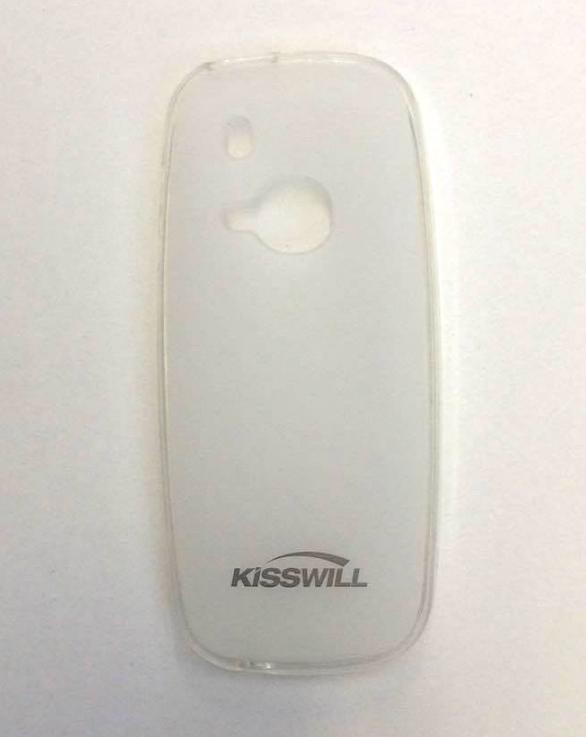 Silikonové pouzdro Kisswill na mobil Nokia 3310 (2017) Světlé (Silikonový kryt či obal na mobilní telefon v průhledném provedení Nokia 3310 (2017) v čirém provedení)