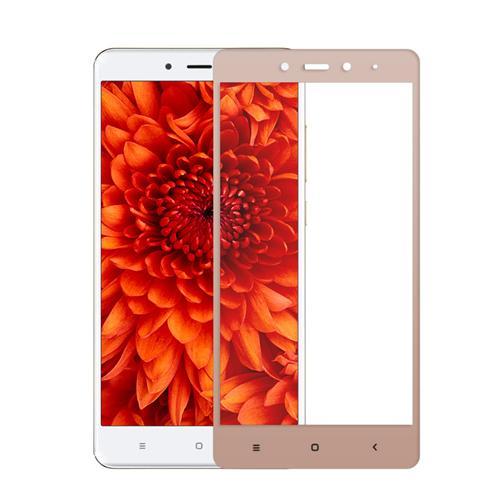 Ochranné tvrzené sklo pro Xiaomi Redmi Note 4 Global LTE na celý displej, zlaté (Tvrzenné temperované ochranné sklo Xiaomi Redmi Note 4 Global s českým LTE)