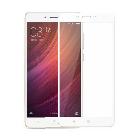 Ochranné tvrzené sklo pro Xiaomi Redmi Note 4 Global LTE na celý displej, bílé (Tvrzenné temperované ochranné sklo Xiaomi Redmi Note 4 Global s českým LTE v bílém provedení)