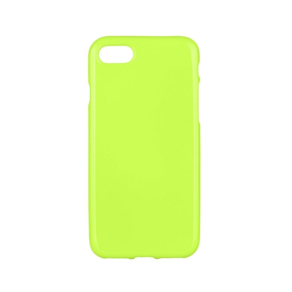 Silikonové pouzdro JELLY CASE na mobil Apple iPhone 7 / 8 Zelené (Silikonový kryt či obal na mobilní telefon v průhledném provedení Apple iPhone 7 / Apple iPhone 8 zelené)