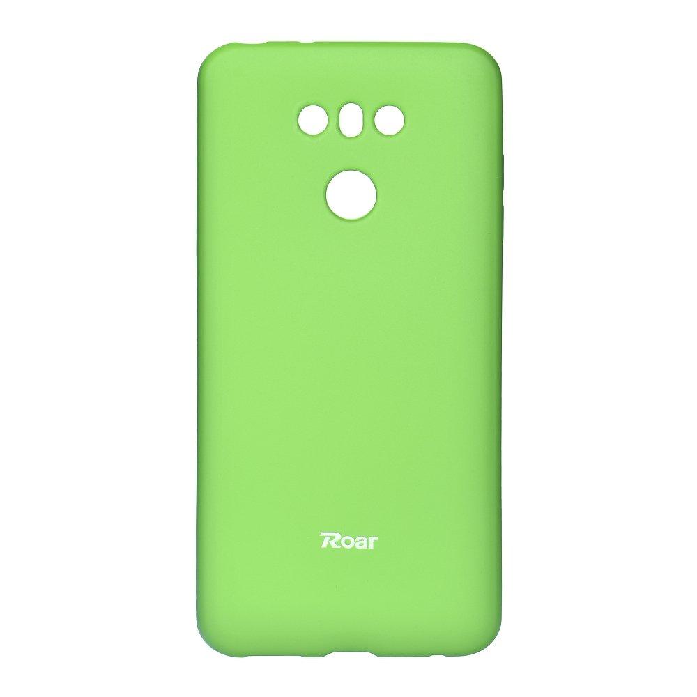 Silikonové pouzdro Roar Jelly na mobil LG G6 - Zelené (Silikonový kryt či obal na mobilní telefon v barevném provedení LG G6 H870 / LG G6 Dual SIM H870DS zelené)