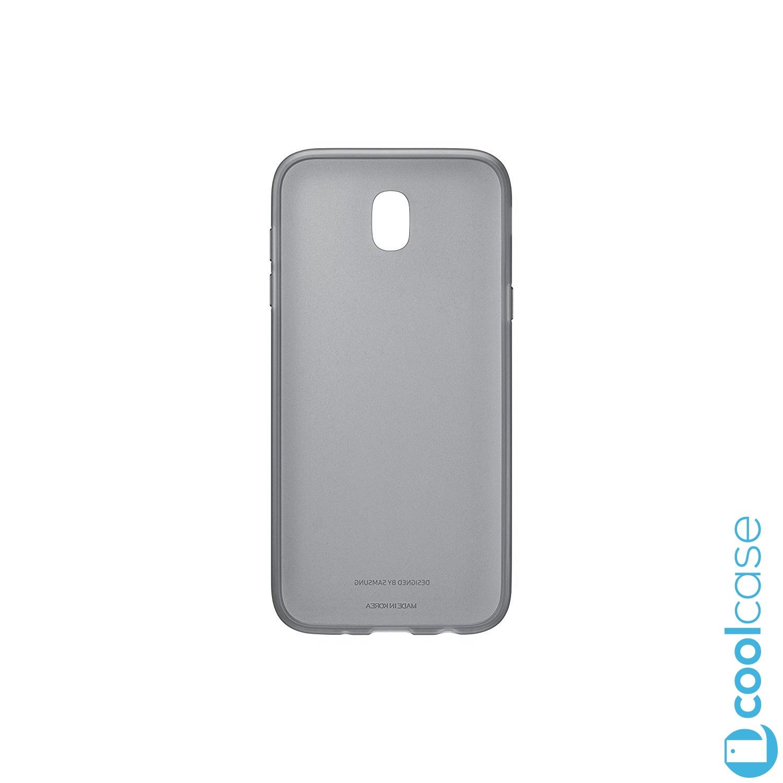 Originální silikonové pouzdro Jelly EF-AJ530TBE na Samsung Galaxy J5 2017 černé (Originální silikonový kryt či obal EF-AJ530TBE Samsung Jelly Cover na mobilní telefon Samsung Galaxy J5 (2017) SM-J530 v černé barvě)