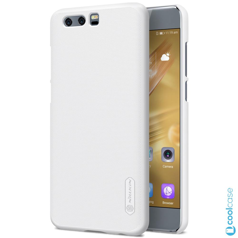 Plastové pouzdro na mobilní telefon Nillkin Super Frosted pro Honor 9 Bílé (Kryt či obal Nillkin na mobil Honor 9 Bílé + fólie na displej)