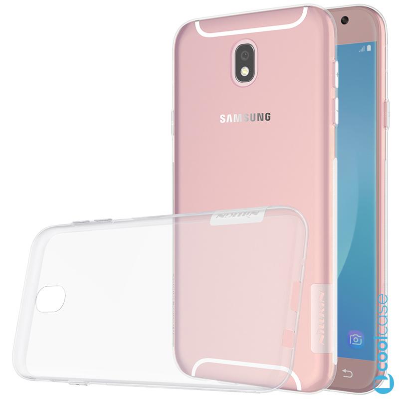 Silikonové pouzdro Nillkin Nature 0,6 mm na mobil Samsung Galaxy J5 2017 Světlé (Silikonový kryt či obal Nillkin Nature na mobilní telefon Samsung Galaxy J5 (2017) SM-J530 v Světlé barvě)