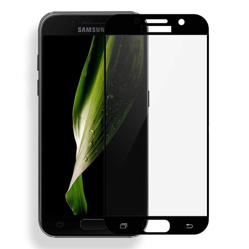 Ochranné sklo Tactical pro Samsung Galaxy J7 (2017) na celý displej - černé (Tvrzenné ochranné full face sklo Samsung Galaxy J7 (2017) - tempered glass black)