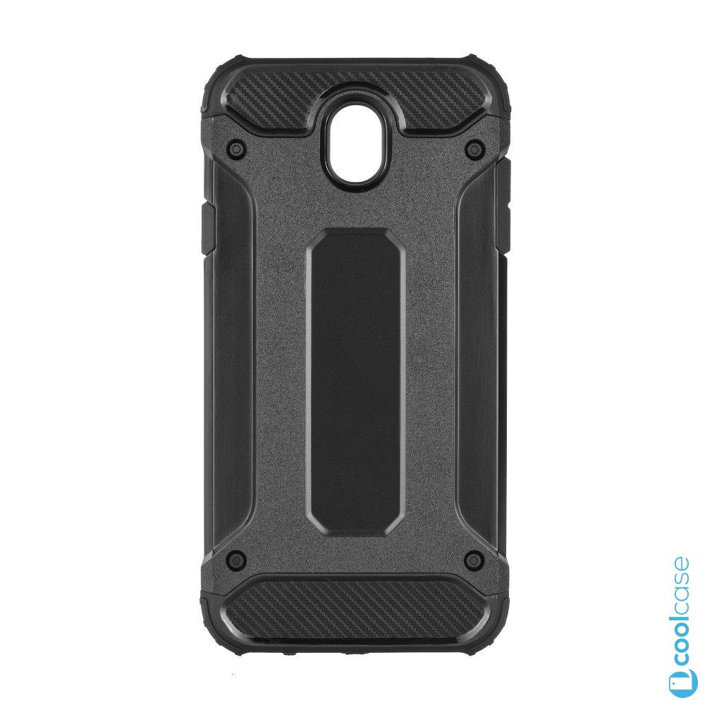 Odolné pouzdro Forcell Armor na mobil Samsung Galaxy J3 (2017) Černé (Odolný kryt či obal Forcell Armor na mobil Samsung Galaxy J3 (2017) v Černé barvě)