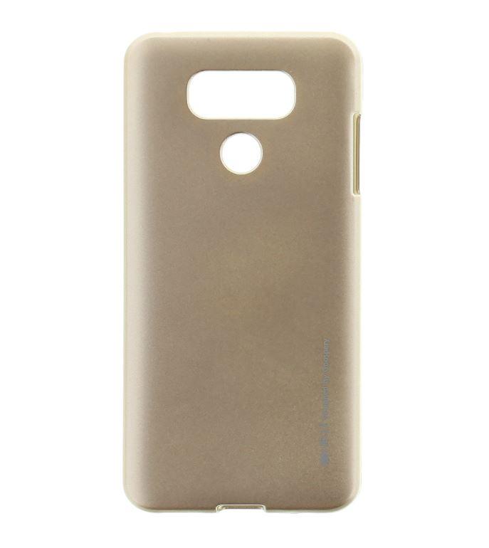 Silikonové pouzdro Mercury iJelly na mobil LG G6 - Zlatavé (Silikonový kryt či obal na mobilní telefon LG G6 H870 / LG G6 Dual SIM H870DS iJelly Zlatavé)