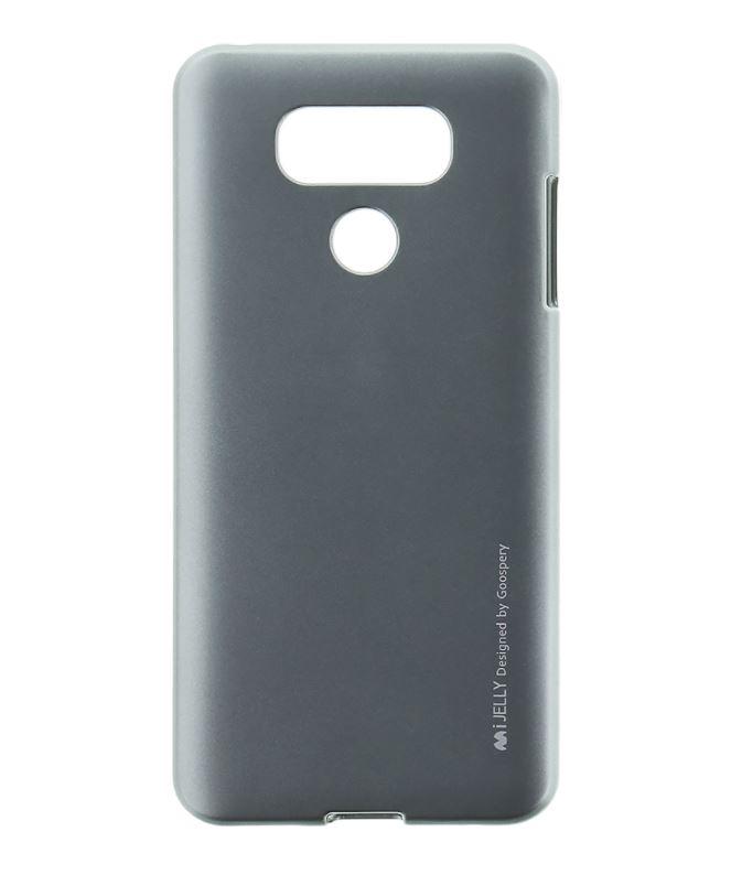 Silikonové pouzdro Mercury iJelly na mobil LG G6 - Šedé (Silikonový kryt či obal na mobilní telefon LG G6 H870 / LG G6 Dual SIM H870DS iJelly Šedé)