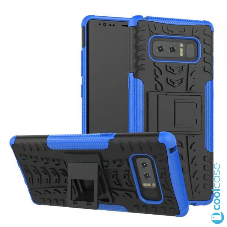 Odolné pouzdro PANZER CASE NEO na mobil Samsung Galaxy Note 8 Modré (Odolný kryt či obal Panzer na mobil Samsung Galaxy Note 8 se stojánkem - Modrý)
