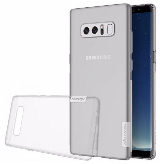 Silikonové pouzdro Nillkin Nature 0,6 mm na mobil Samsung Galaxy Note 8 čiré (Silikonový kryt či obal Nillkin Nature na mobilní telefon Samsung Galaxy Note 8 v čiré barvě)