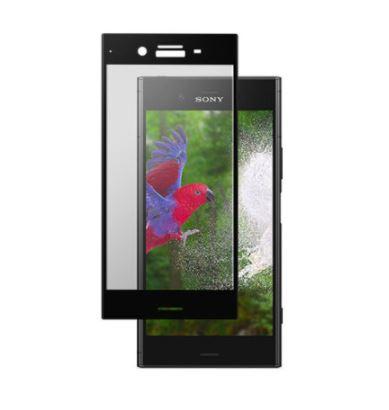 Ochranné tvrzené temperované sklo Roxfit na celý displej Sony Xperia XZ1 Černé (Tvrzenné ochranné sklo Sony Xperia XZ1)