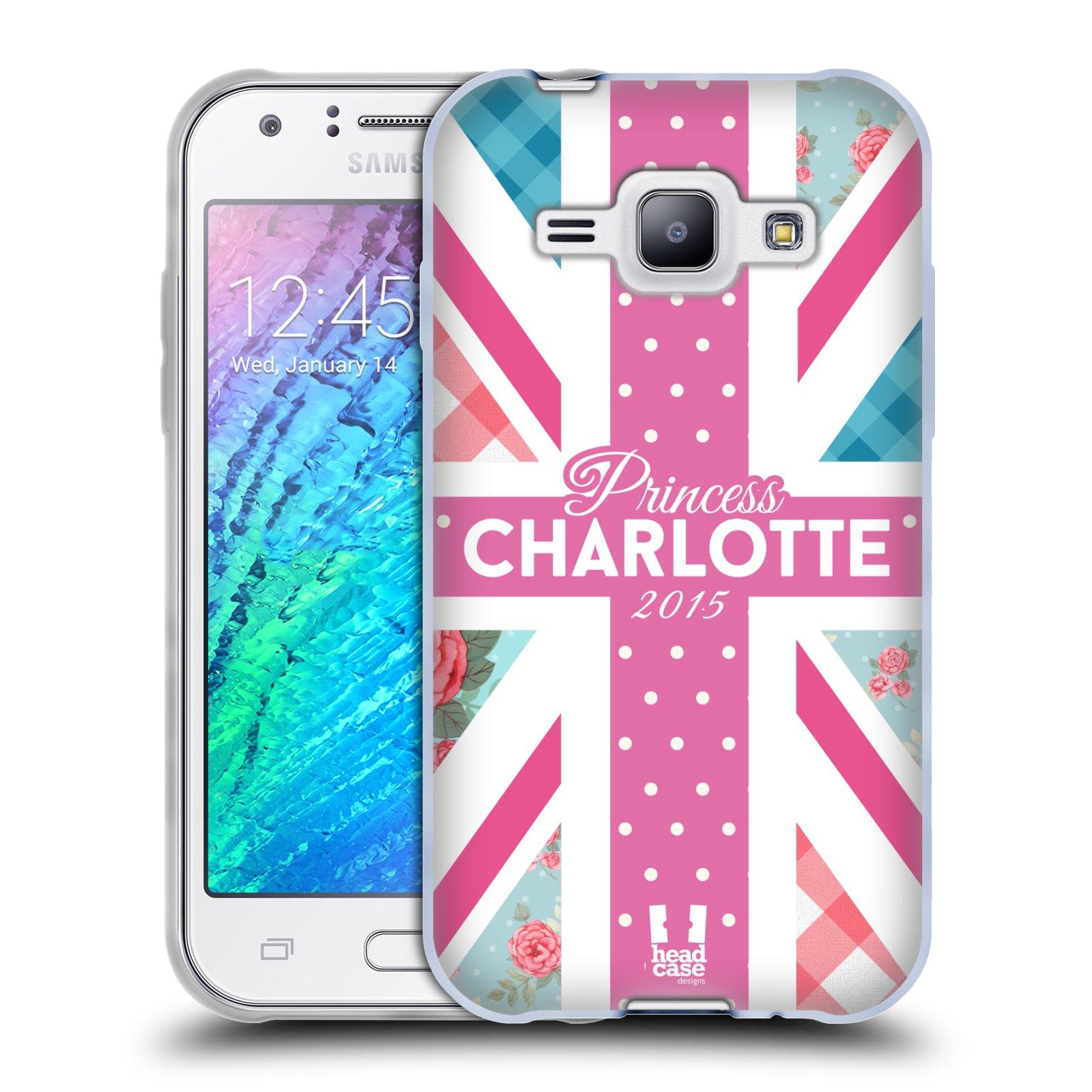 Silikonové pouzdro na mobil Samsung Galaxy J1 HEAD CASE Princezna Charlote (Silikonový kryt či obal na mobilní telefon Samsung Galaxy J1 a J1 Duos)