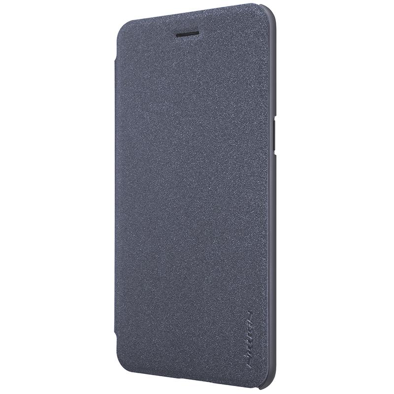 Flipové pouzdro Nillkin Sparkle Folio na mobil OnePlus 5 Šedé (Flip kryt či obal na mobil OnePlus 5 Šedé)
