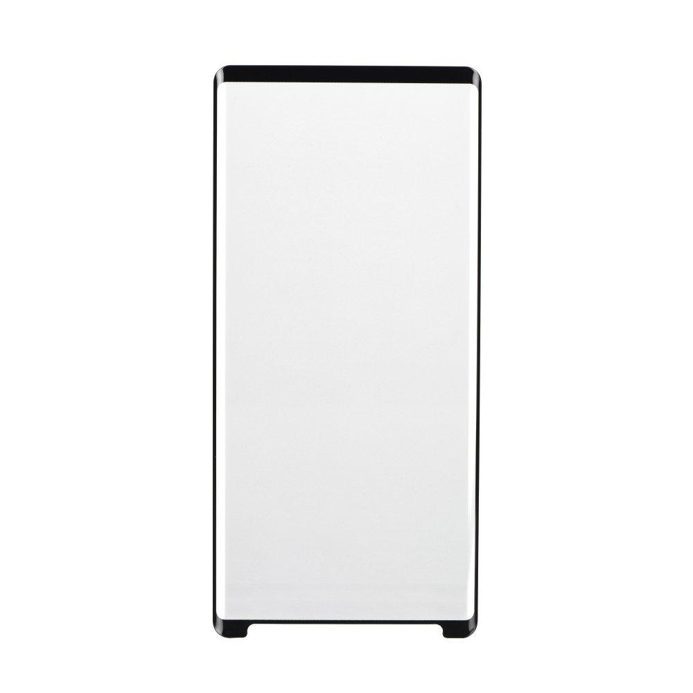 Ochranné tvrzené 3D sklo X-ONE pro Samsung Galaxy Note 8 černé, tenký rámeček (Tvrzenné ochranné 3D sklo Samsung Galaxy Note 8 černé s tenkým rámečkem)
