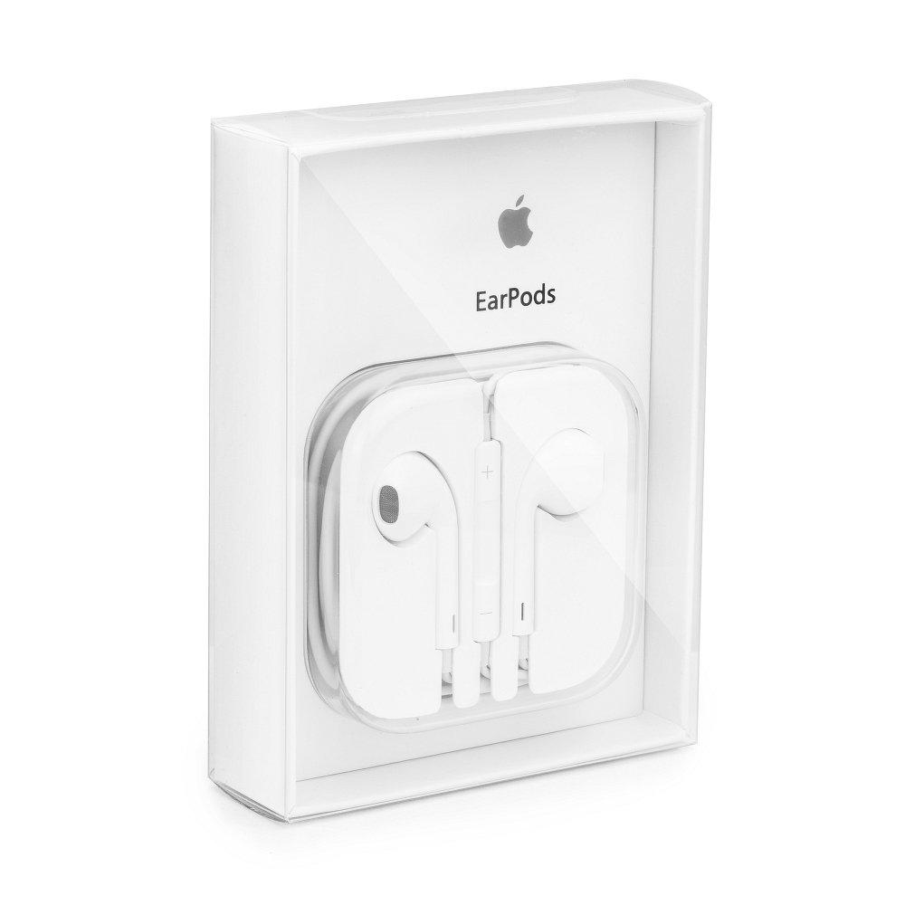 Originální handsfree sluchátka Apple iPhone MD827ZM 3,5 mm Jack bílá (EUBlister)