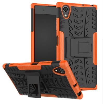 Odolné pouzdro PANZER CASE NEO na mobilní telefon Sony Xperia XA1 Ultra Oranžové